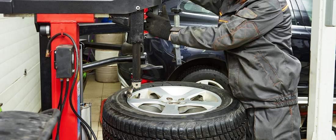 Montage de pneu